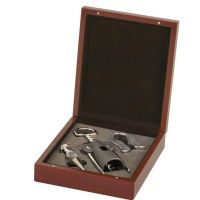 Rosewood 3-Piece Wine Tool Set</br>GS009